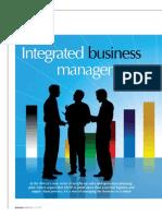 Integrated Business Management John Schorr