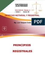 6. PRINCIPIOS REGISTRALES