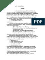 ARSURI (Urgenţe datorate agenţilor fizici şi chimici)