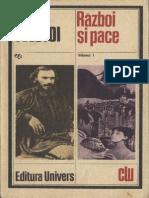 Razboi Si Pace Vol 1