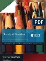 2010-2011 Faculty of Education Viewbook