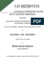 Beethoven's Studies