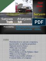 16782318 Case Study of Satyam Scam