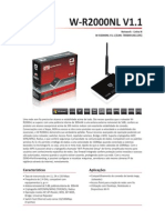 Roteador Wireless C3Tech W R2000NL V1.2