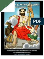 Mazes & Minotaurs DM Manual