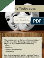 Drama Techniques