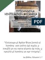 Demystifying the mechanical ventilation