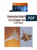 F-22 Construction Guide