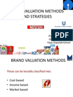 brand valuation methods and strategies-