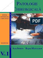 Patologie Chirurgicală - Vol 1(Sorin Simion) București, 2002