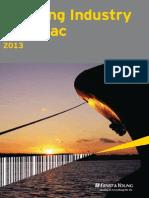 EY 2013 Shipping Industry Almanac