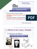 La Radioactivité Ampère 2009
