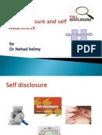 Self Disclosure and Self Awareness 111