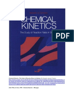 Chemical Kinetics - The Study of Reaction Rates in Solution