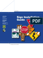 Road Sign Installation Guidelines