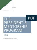 The President's Mentorship Program (Hanna Tetteh)