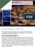 Demo Slides for SAP BI/ BW