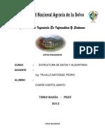 LISTAS ENLAZADAS Trabajo Monografico