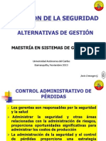 ALTERNATIVAS DE GESTIÓN
