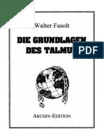 Walter Fasolt -Die Grundlagen Des Talmud