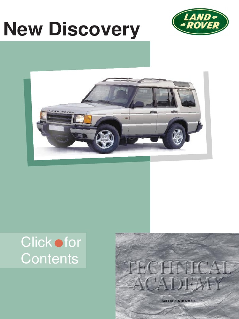 Discovery 2 - Land Rover Technical Academy | Anti Lock