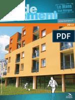 Le Guide Du Logement - 2013