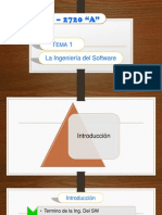 Tema 1 La Ingenieria Del Software