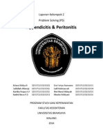 Laporan Kelompok 2 (NC Appendicitis & Peritonitis)