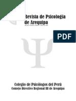 Revista de psicología de Arequipa 2012 I