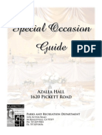 Special Occasion Guide