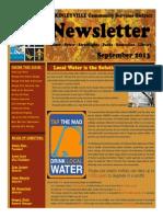 September 2013 Winter-Spring McKinleyville Community Services District Newsletter