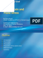 Plane Strain and Plane Stress