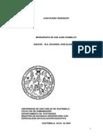 Monografia de Chamelco
