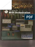 Paul Gilreath - The Guide to MIDI Orchestration