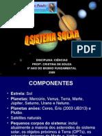 Sistema Solar 6 Ano