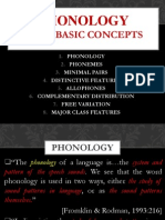 Session 4- Phonology and Some Basic Concepts