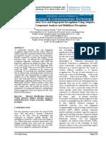 Multimodal Biometric Face and Fingerprint Recognition