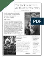 Winter 2013 McKinleyville Land Trust Newsletter
