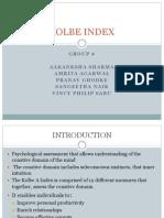 Kolbe Index