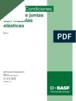 BASF Sellado Juntas Masillas Elasticas