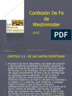 ConfesionDeFe Westminister