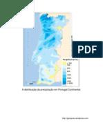 A distribuição da precipitação em Portugal Continental