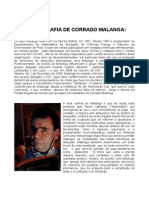 Bibliografia de Corrado Malanga (Português)