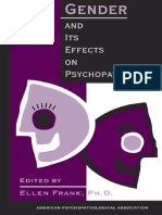 Gender and Psychopathology
