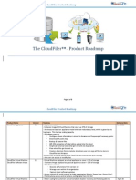 The CloudFiler Product Roadmap v4