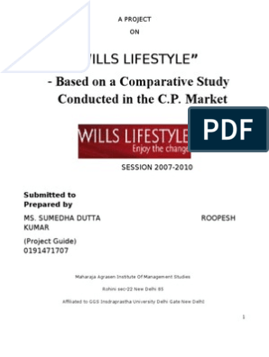 Wills Lifestyle | Retail | Competition