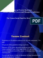 Yemen-Social Fund Presentation