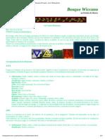Imprimir - Bosque Wiccano - Los 4 Elementos