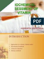 Biochemical Assessment of Vitamin D