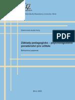Lazarová-B-Základy-pedagogicko---psychologického-poradenství-pro-učitele---kniha